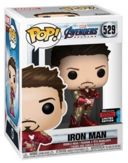 POP Funko - Iron Man #529 (EXCLUSIVO)