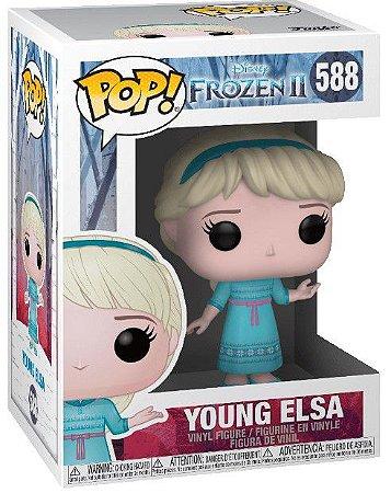 POP Funko - Young Elsa - Frozen 2 #588
