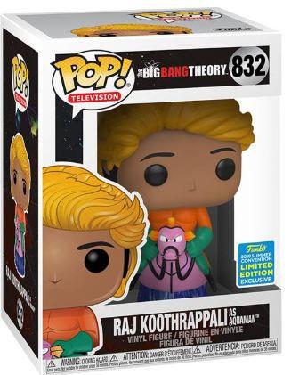 POP Funko - Raj Koothrappali as Aquaman #832
