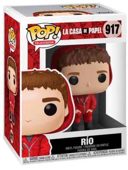 POP Funko - Rio - La casa de papel #917