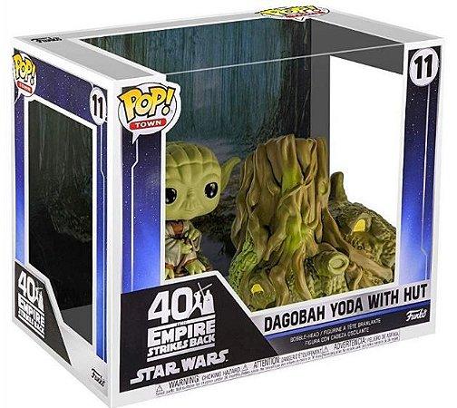 POP Funko - Dagobah YODA with Hut - Star Wars #11