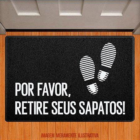 Capacho Por favor retire seus sapatos