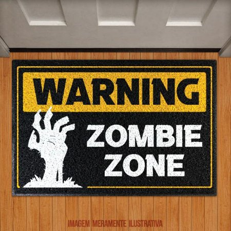 Capacho Warning Zombie Zone