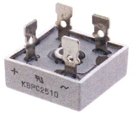 Ponte Retificadora Monofásica KBPC 2510