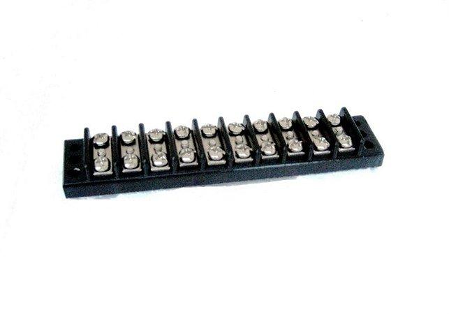 Conector Régua TP-10 - Baquelite PFN  C/Fix.