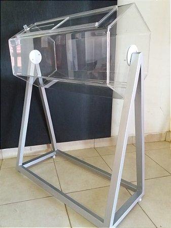 Urna giratória 100x50cm