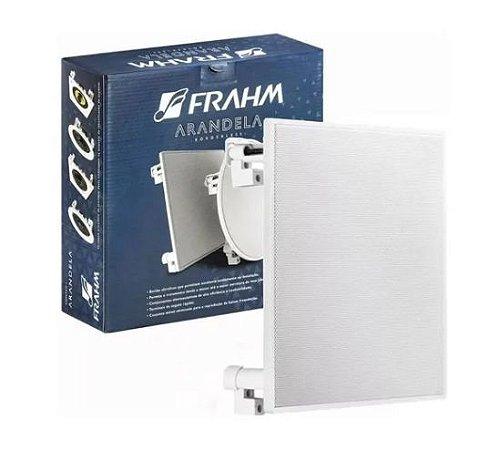 """Caixa de Som de Embutir Frahm - Arandela 6"""" FR Quadrada 40W"""