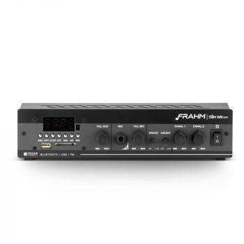 Amplificador - Receiver para Som Ambiente Frahm SLIM 1600 APP Bluetooth
