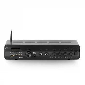 Amplificador - Receiver para Som Ambiente Frahm SLIM 3200 OPTICAL Bluetooth 200W
