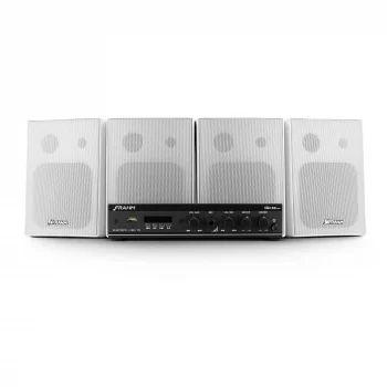 Kit para Som Ambiente Frahm - Kit Sonorização Slim 800 APP Bluetooth