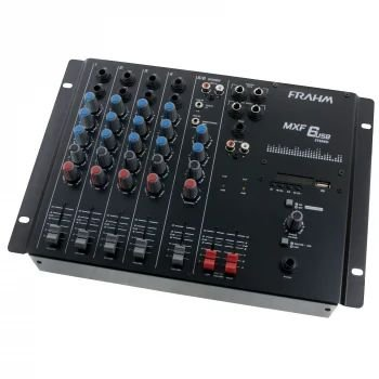 Mesa de Som Frahm - MXF 6 canais USB