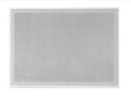 "Arandela AAT Retangular LCR-A100 2x Woofer 5,25"" 100W Rms Branco"