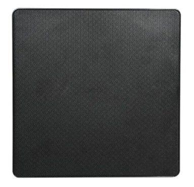Arandela AAt NQ6-A100 Angulada 100w Caixa Acústica De Embutir Preto