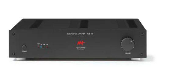Amplificador Aat Para Subwoofer Passivo Pms-100 De 100w Rms
