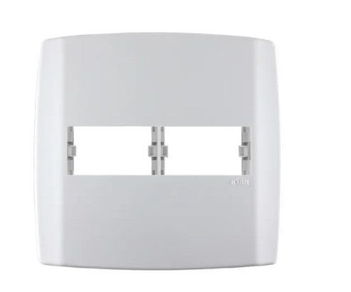 Placa 4x4 1+1 Modulos Separados C/ Suporte Slim Ilumi