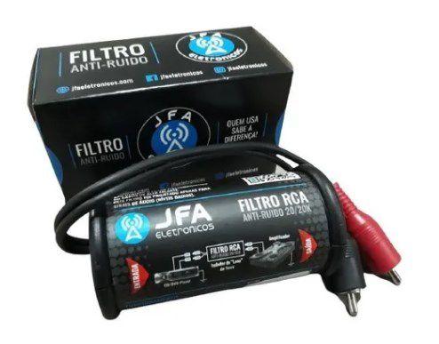Filtro Anti Ruído Jfa Rca Eletromagnético Stereo