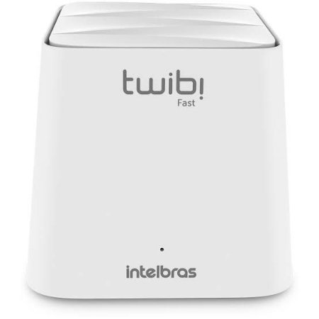 Roteador Intelbras Twibi Wifi Mesh Fast 2,4 E 5 Ghz 100m2