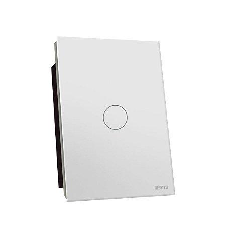 Interruptor Touch Rele 1 Pad - Branco Redondo 4x2