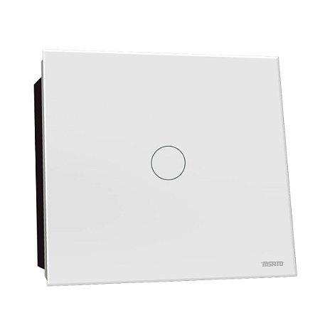 Interruptor Touch Rele 1 Pad - Branco Redondo 4x4