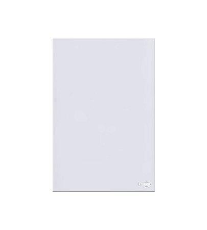 Espelho Cego Branco Lumenx Linha Glass 4x2