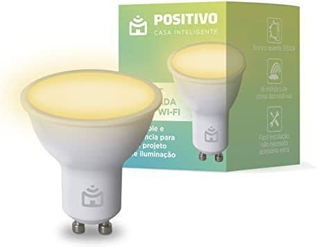 Smart Lâmpada Spot Wi-fi Positivo Casa Inteligente