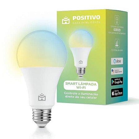 Smart Lâmpada Wi-fi Led 10w Positivo Casa Inteligente