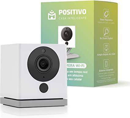 Smart Câmera 360 Wi-fi Positivo Casa Inteligente 1080p