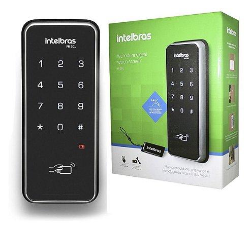 Fechadura Digital Intelbras Fr 201 Senha E Cartão