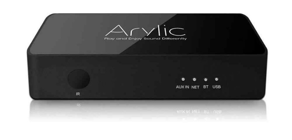 Pré-amplificador sem fio Arylic S10 Wifi e Bluetooth Estéreo com Suporte MultiRoom / Multizone