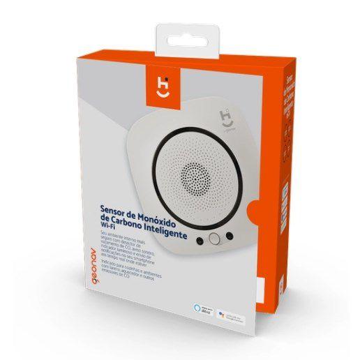 Sensor de Monóxido de Carbono Inteligente Wi-fi