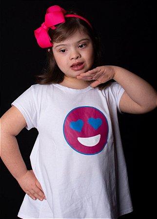 Camiseta Emoji Love