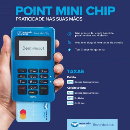 KIT 10 POINT MINI CHIP - Revendedor - Mercado Pago