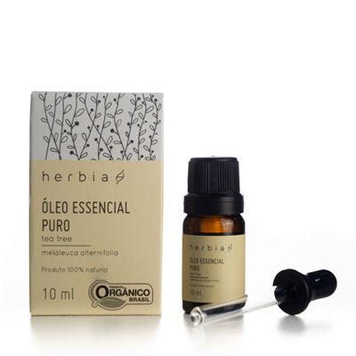 Óleo Essencial de Melaleuca/ Tea Tree Orgânico 10ml - Herbia