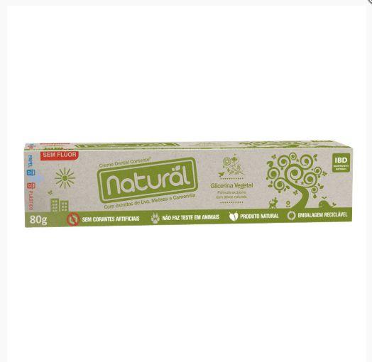 Creme Dental Orgânico Natural 80gr - Orgânico Natural