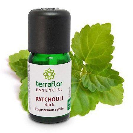 Óleo Essencial de Patchouli Dark 10ml – Terra Flor
