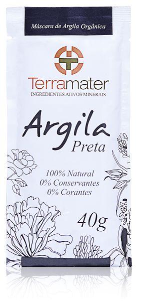 Argila Preta Orgânica 40g - Terramater