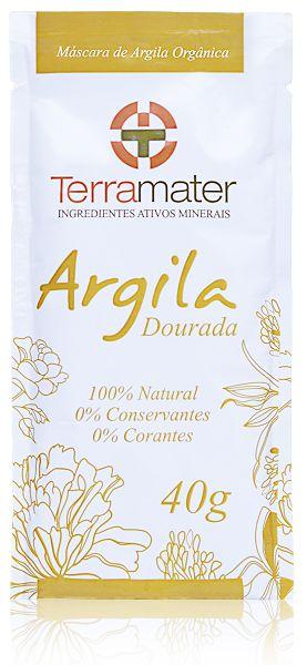 Argila Dourada Orgânica 40g - Terramater