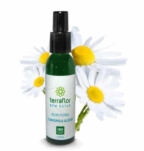 Hidrolato /Água Floral Camomila Alemã 120ml - Terra Flor
