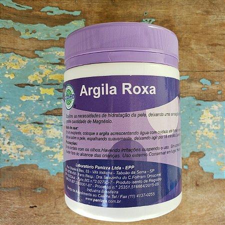 Argila Roxa Natural Esterilizada 200gr - PANIZZA