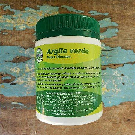 Argila Verde Natural esterelizada 160gr - PANIZZA