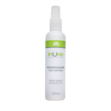 Higienizador 100% Natural IMUNO Spray 200ml - WNF