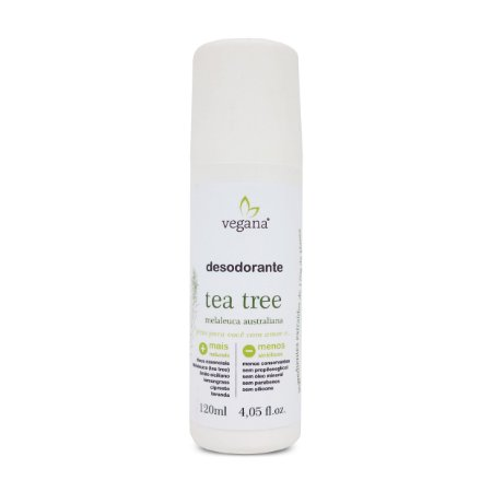 Desodorante Corporal Tea Tree 120ml - Vegana by WNF