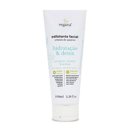 Esfoliante Facial Hidratação e Detox 100ml - Vegana by WNF
