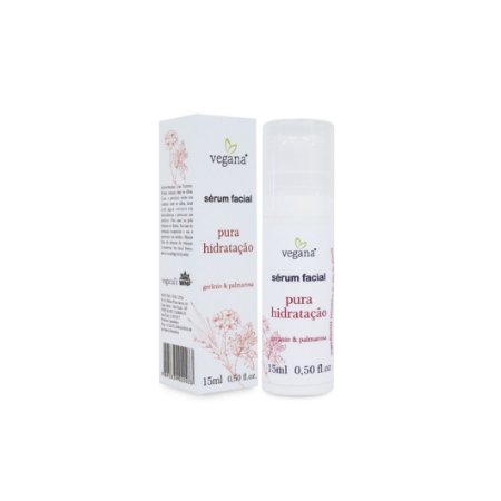 Sérum Facial Pura Hidratação 15ml - Vegana by WNF