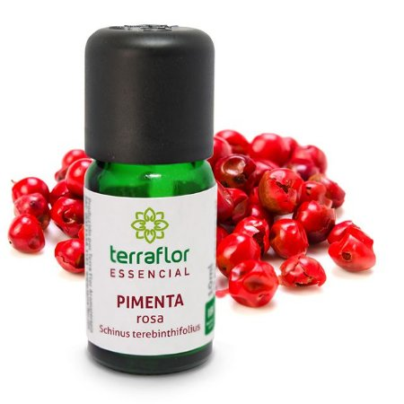 Óleo Essencial de Pimenta Rosa 10 ml – Terra Flor