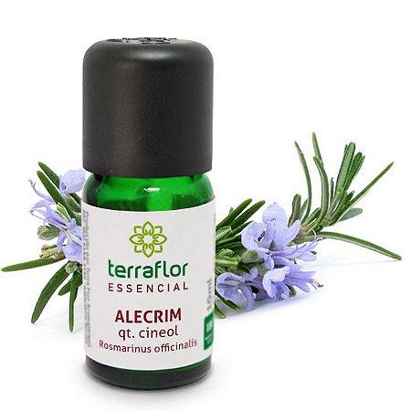 Óleo Essencial de Alecrim Cineol 10 ml – Terra Flor