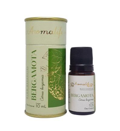Óleo Essencial Bergamota 10ml - Aromalife