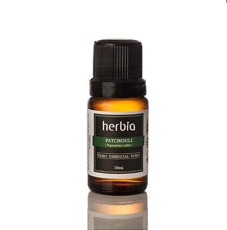 Óleo Essencial Orgânico Patchouli 10ml - Herbia