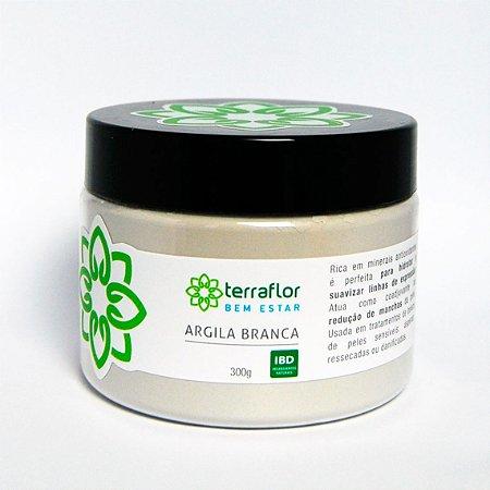 Argila Branca 300g - Terraflor