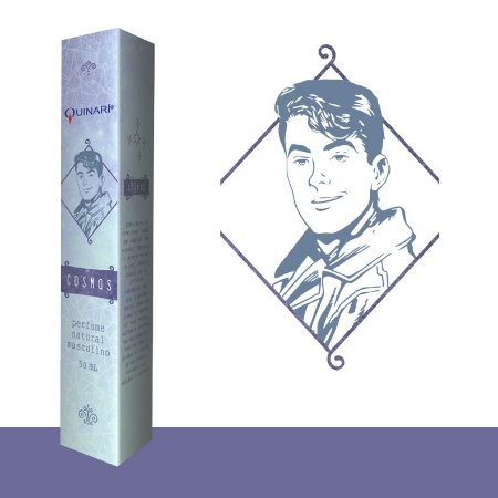 Perfume Vegano Natural Cosmos 50ml - Quinari